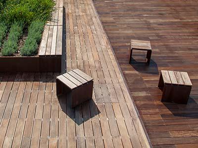 Decking - Pavimentazione Legno Esterna - Garbelotto - Cenerelli Parquet